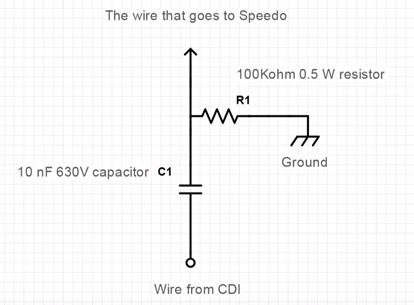 Aftermarket Motorcycle Speedometer Wiring Diagram from www.xjrider.com