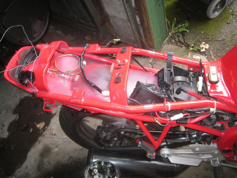 Taillight Undertail Swap With 2001 R6
