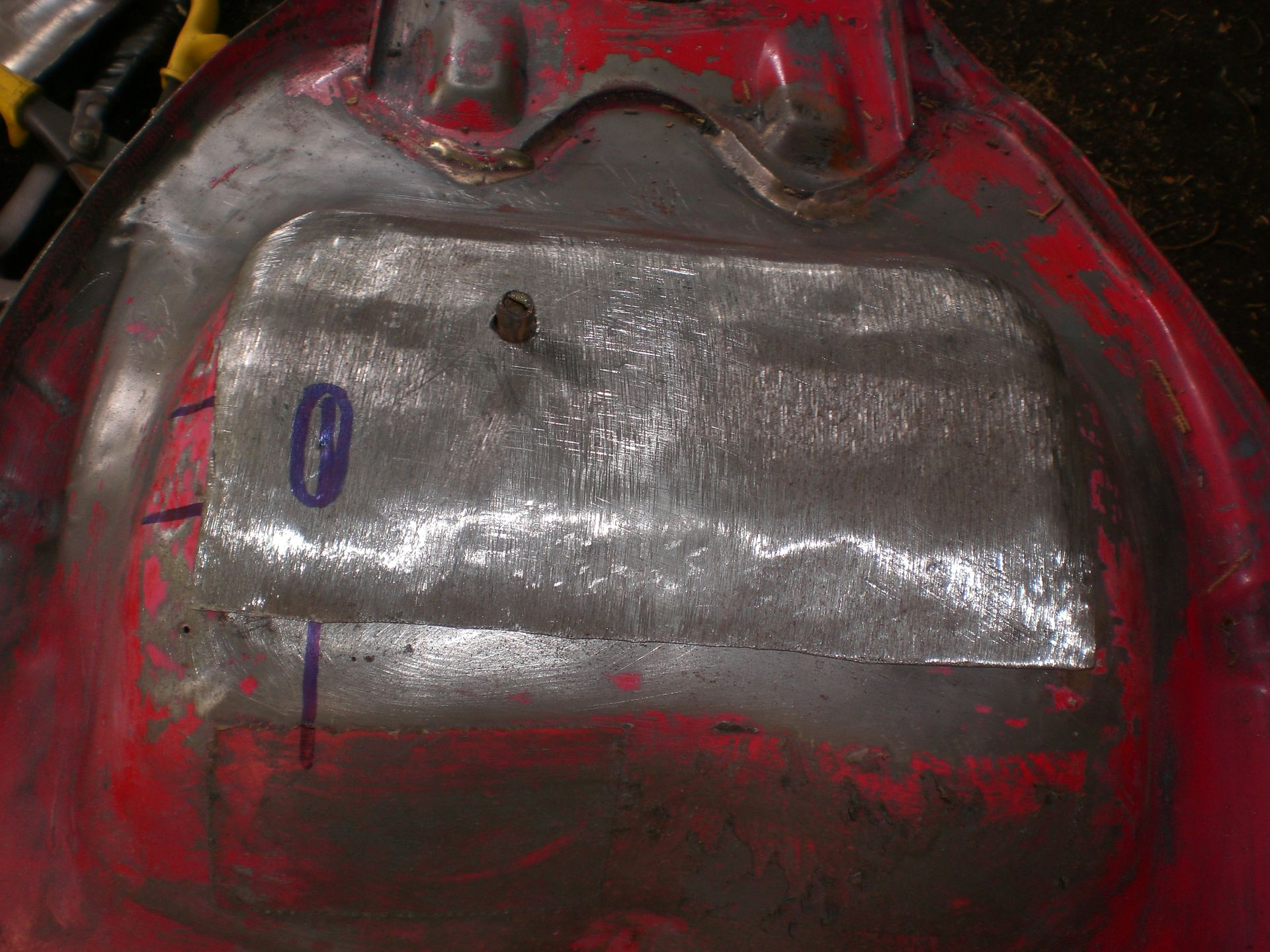 How To Repair A Rusty Fuel Tank Brazing Xjrider Com